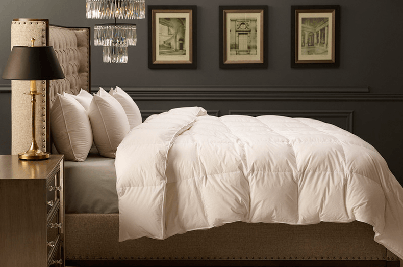 Linen Alley comforters and pillows