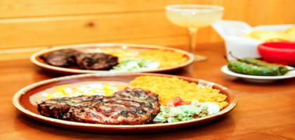 T-bone Steak with Guacamole